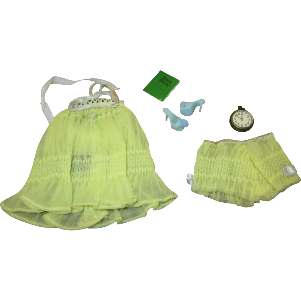 Mattel 1959 Barbie Sweet Dreams Outfit 973 From