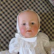 Gerbruder Heubach Baby Doll - Mold 6894 - Tiny 8 inches Tall