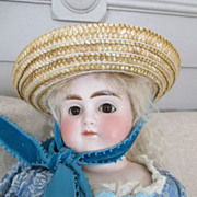 Stunning Solid Head Turned Shoulder Head Doll