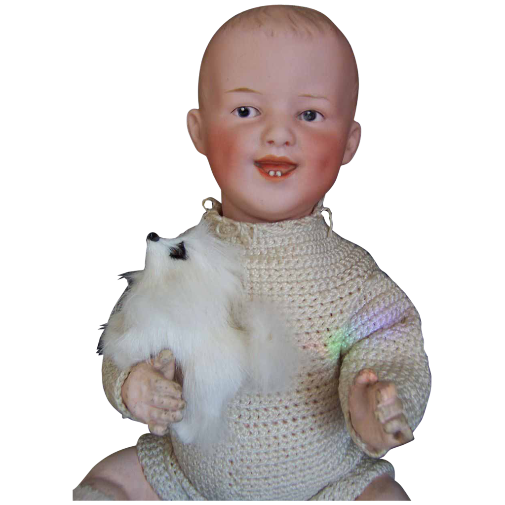 Devilish 13 Quot Laughing Gebruder Heubach Baby Doll