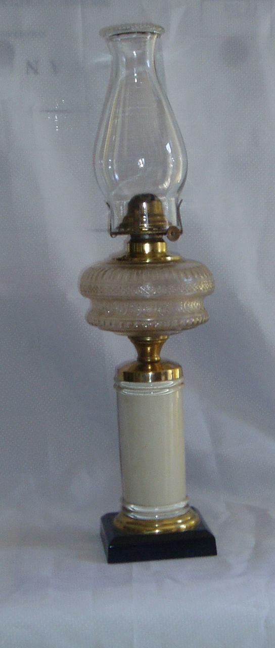 Antique kerosene/oil composite lamp