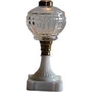 Antique 1860,s Oil Lamp