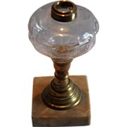 Star & Shield Oil Lamp
