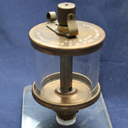Lunkenheimer drip oiler for steam and hit and miss engines