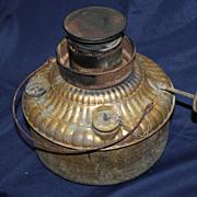 Oil brass brooder heater