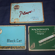 Canadian cigarette tins