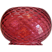 Gas Oil Quilted Cranberry Shade