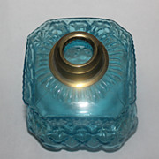 Blue minature oil lamp