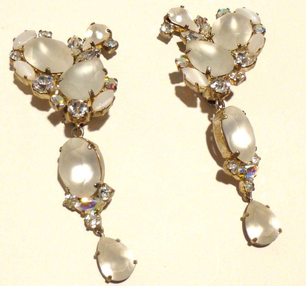 Exquisite Vintage Chandelier Earrings