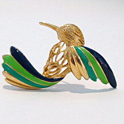 Napier Hummingbird Brooch