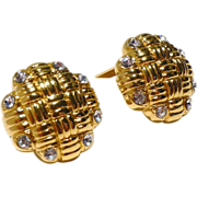 Stunning Oscar de la Renta Vintage Earrings