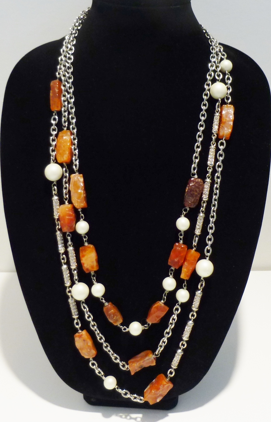 OUTSTANDING! St. John's Couture Necklace