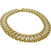 Magnificent Cleopatra-Style Erwin Pearl Choker