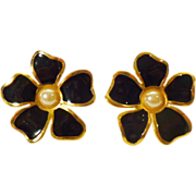 Vintage Gerard Yosca Designer Earrings - New York