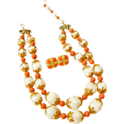 Fantastic Deauville Necklace with Earrings