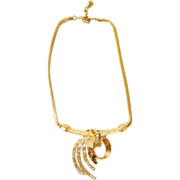 Outstanding 1953 Alfred Philippe Trifari Comet Necklace - Near Mint!