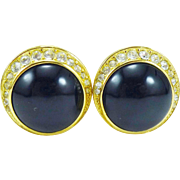 Christian Dior Earrings -- Elegant and Classic -- MINT!!!