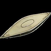 Victorian Sterling Silver F & B Tatting Shuttle