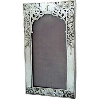 Unger Bros Sterling Silver Frame - circa 1900
