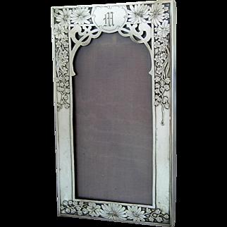 Unger Bros Sterling Silver Frame - circa 1900