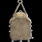 Gorham Sterling Silver Victorian Purse 1880