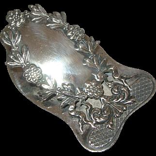 Victorian Sterling Silver Letter Paper Desk Clip