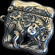 Unger Bros Sterling Silver Stamp Box Safe