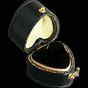 Heart Shape Engagement Ring Display Box