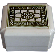 Vintage Triple Ring Jewelry Box
