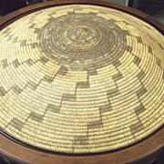 Basket 34 inch American Indian Papago Tribe Arizona