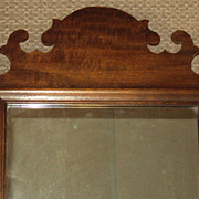 Antique Chippendale Style Mirror c. 1880's