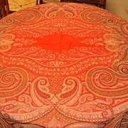 Antique Paisley Shawl 1800's