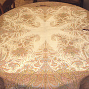 Kashmir Shawl Hand Woven Wool Paisley