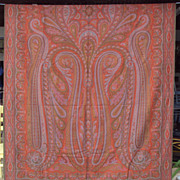 Paisley Shawl, 60 by 128 inches
