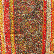 Antique Paisley Shawl,Woven Wool Tribal Textile