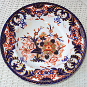 "Large Early Royal Crown Derby Kings Imari 1800 to 1825 with a ""100 year old staple repair"""