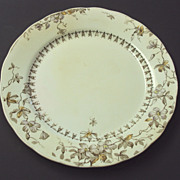 English Staffordshire Wedgwood polychrome plate