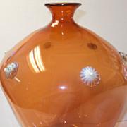 """Dorflinger Opalescent Art Glass Vase Very Rare OPALINE """" Venetian c.1914"""""""