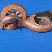 Japanese carpenter's tool, ink box, sumi tsubo, pre 1880