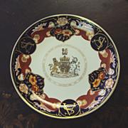 Mason's Commemorative Plate English Royals