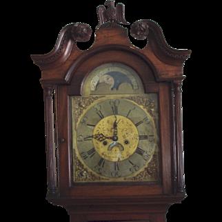 1775 Tall Case Clock from Donaghadee Ireland
