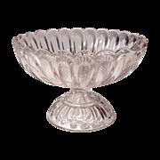 Flint Glass Compote 1861 EAPG Jas. B. Lyon Pittsburgh Pa
