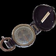 World War II Lensatic Compass