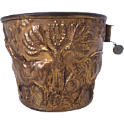 Large Brass Cup Souvenir of Greece