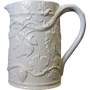 Large English Spode Pitcher