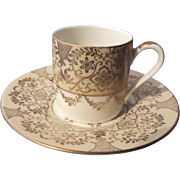 Demitasse Cup and Saucer made by Alka Bavaria