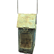 WW1 1906 Stonebridge trench lantern with mica isinglass lens