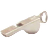 Vintage Sterling Silver Whistle Charm - Wells
