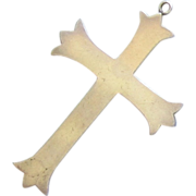 Large Sterling Silver Cross - Taxco