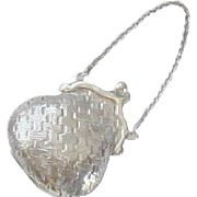 Wallace Sterling Silver Miniature Purse